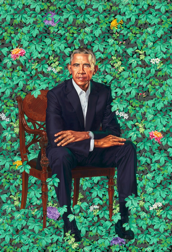 The Shifting Perspective in Kehinde Wiley's Portrait of ...
