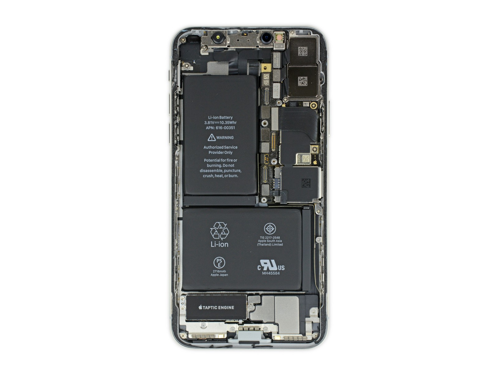 iFixit Teardown Reveals What's Inside the iPhone X