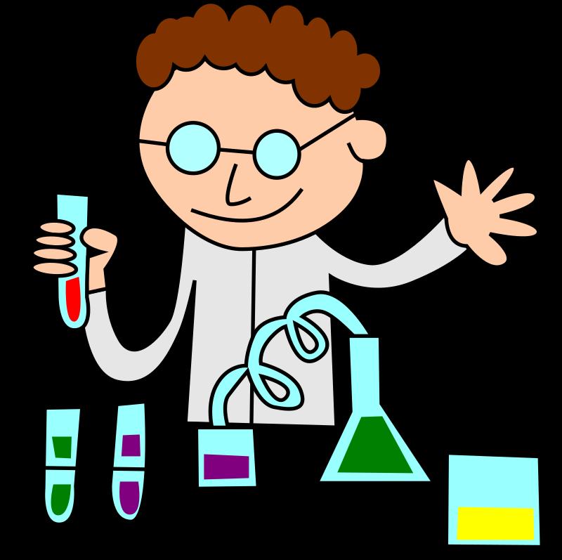 Clipart - Chemist