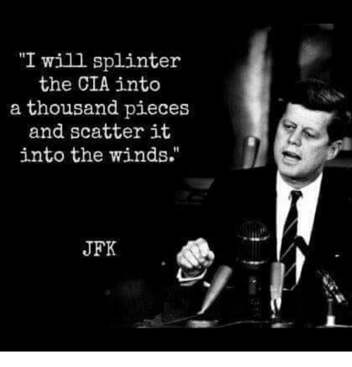 I Will Splinter the CIA Into a Thousand Pieces and Scatter ...