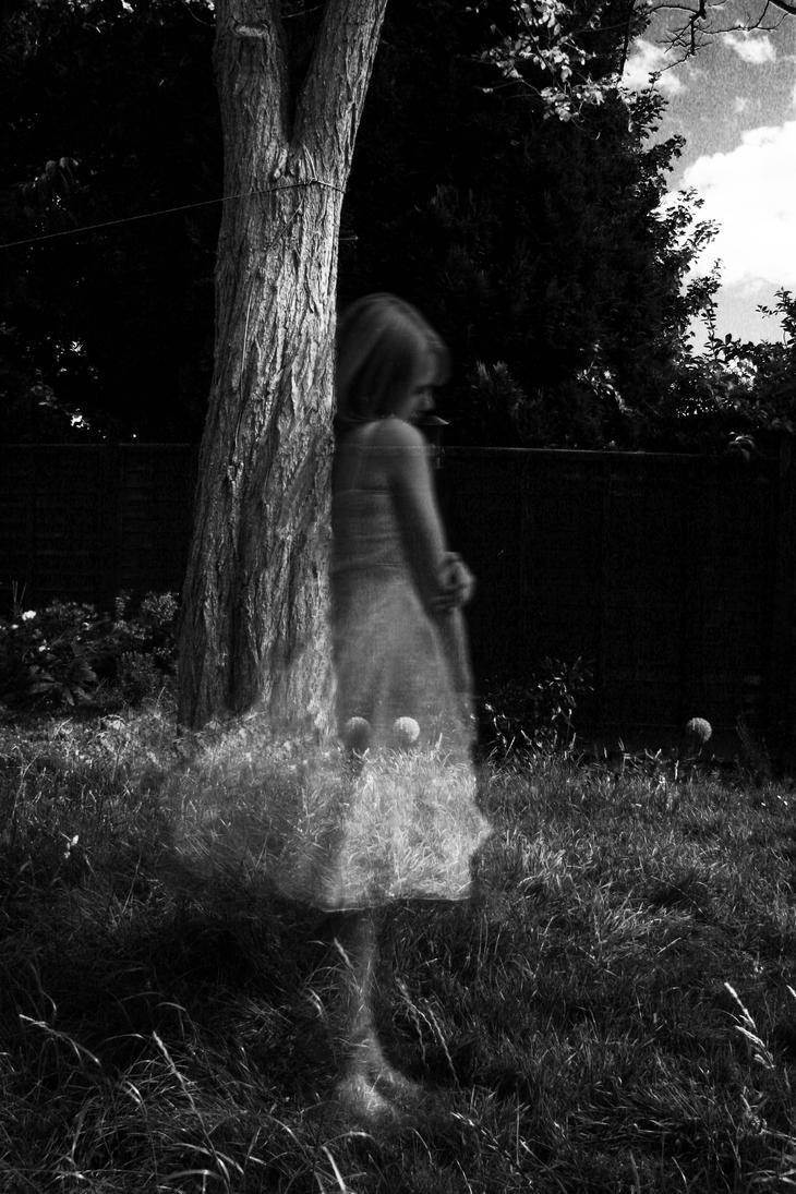 Lonely ghost girl by GhyselenBert on DeviantArt