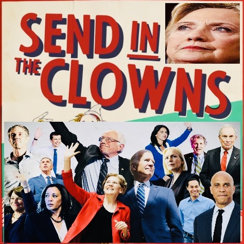 The Democrats' Crowded Clown Car | 22MOON.COM