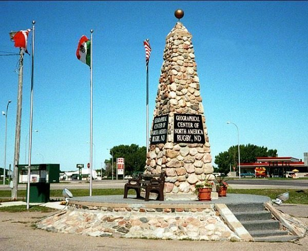 Monument Monday: The Geographical Center of North America ...