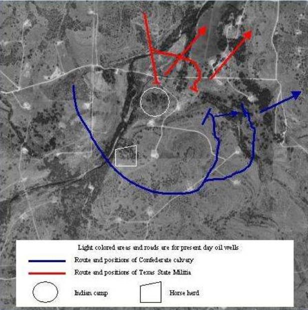 Slag bij Dove Creek | rebelcivilwar