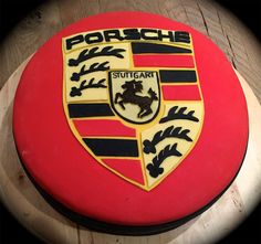 Porsche Birthday cupcake | food | Pinterest | Porsche, Cupcake and Birthday cupcakes