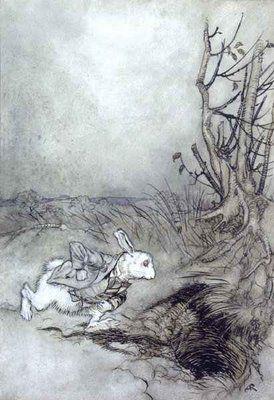Arthur Rackham illustration for Alice in Wonderland | Rackham | Pinterest | Dr. who, White ...