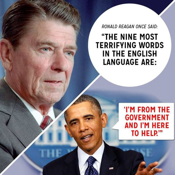 Ronald Reagan once said... #Terrifying | Infographics ...