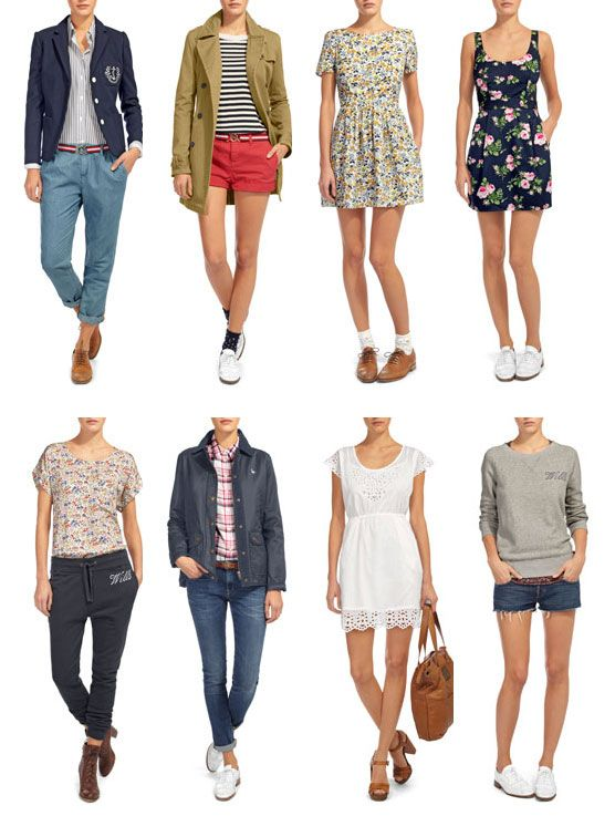 Preppy Clothes for Women | Perfectly preppy spring looks ...