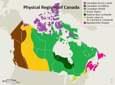 Canadian Landoforms
