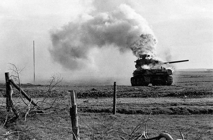 M4 Sherman tank - destroyed | Battle Damages | Pinterest | War, Guns and Photos