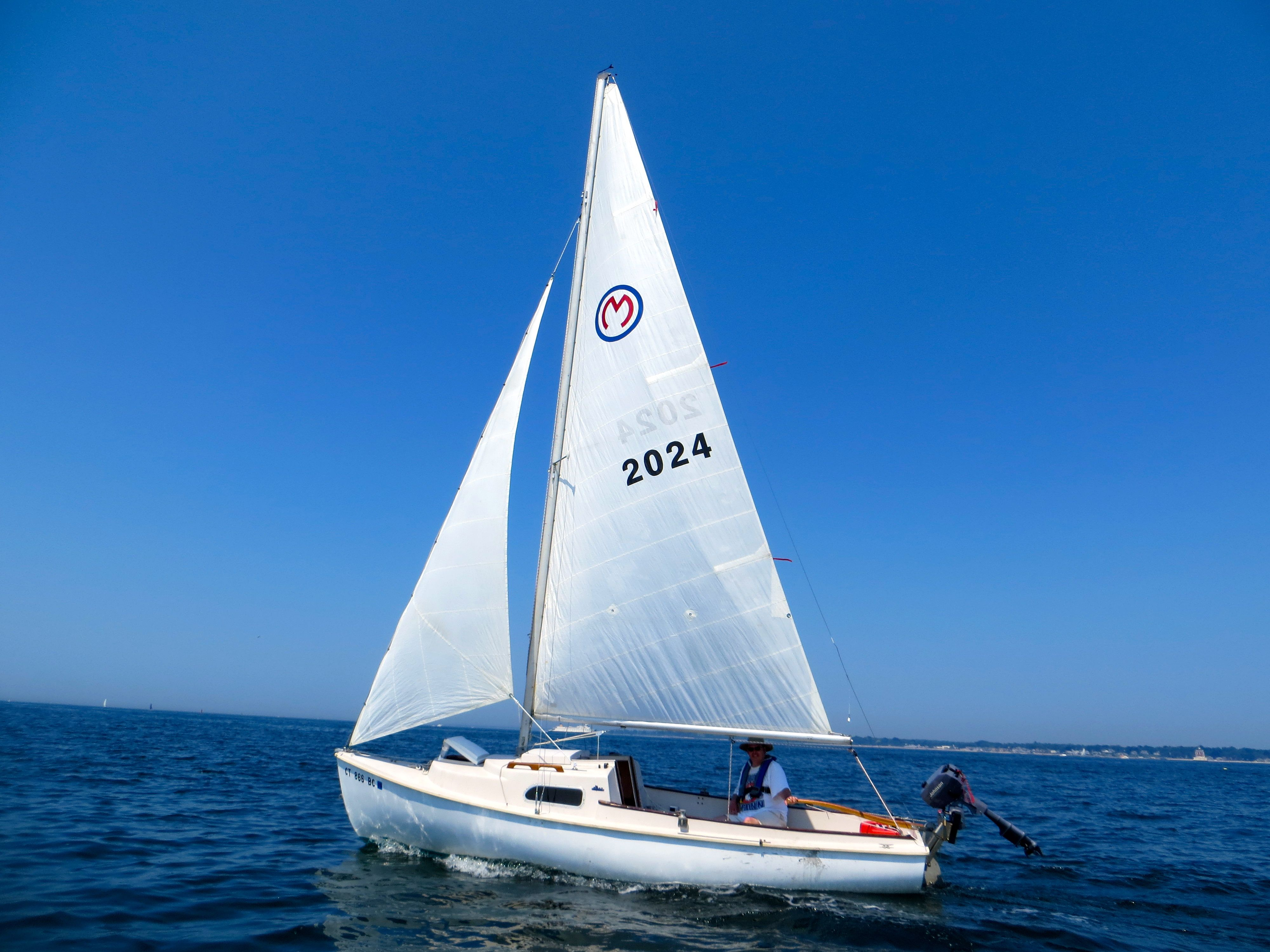 The 19' O'day Mariner.                     This is the boat I'd like to own ...