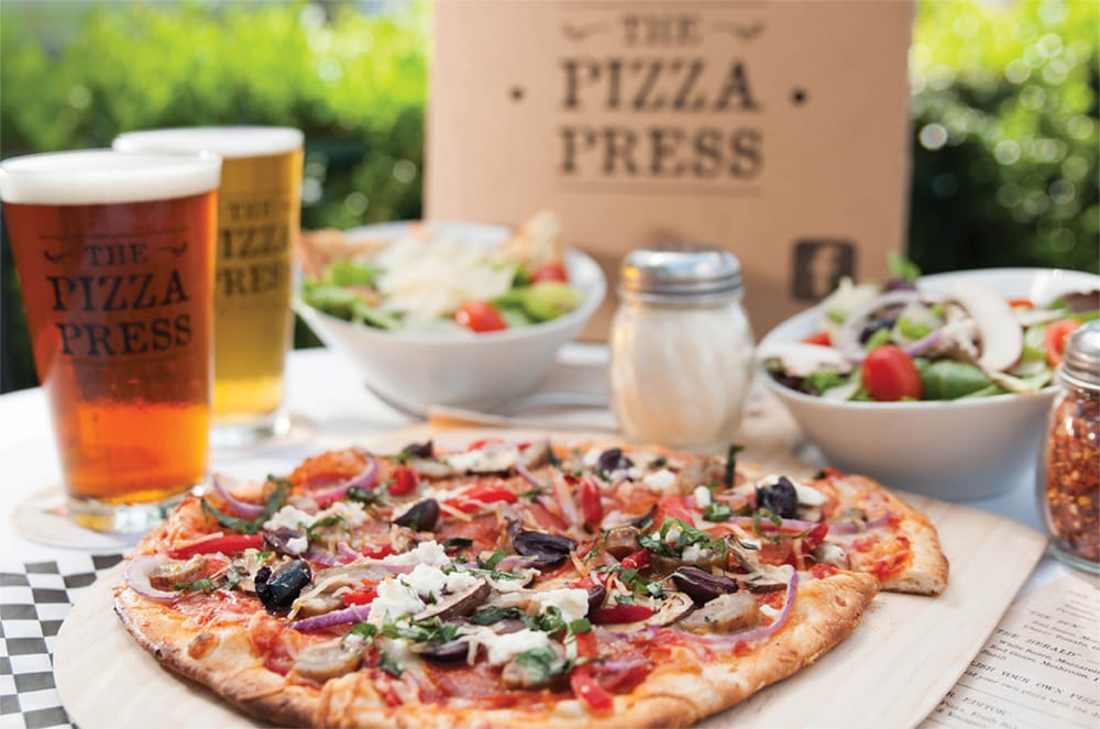 The Pizza Press - Publish Your Own Pizzas & Craft Beers on Tap! - Yelp