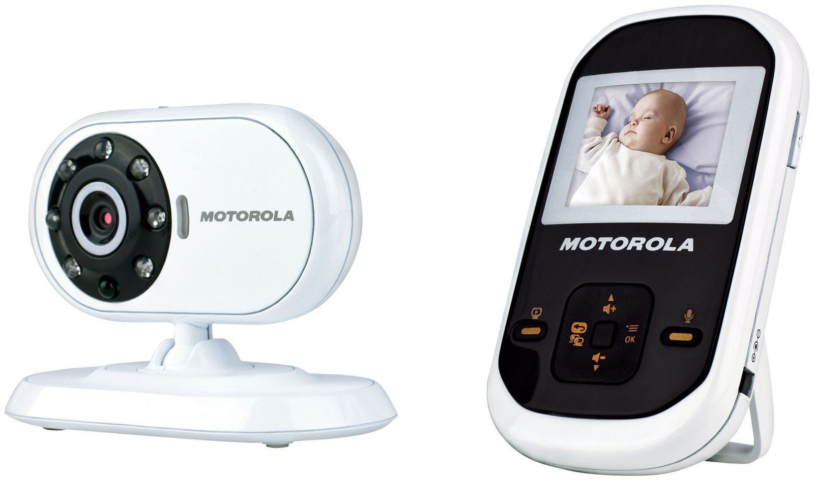 "Motorola MBP18 1.8"" LCD Video Baby Monitor - Night Vision ..."