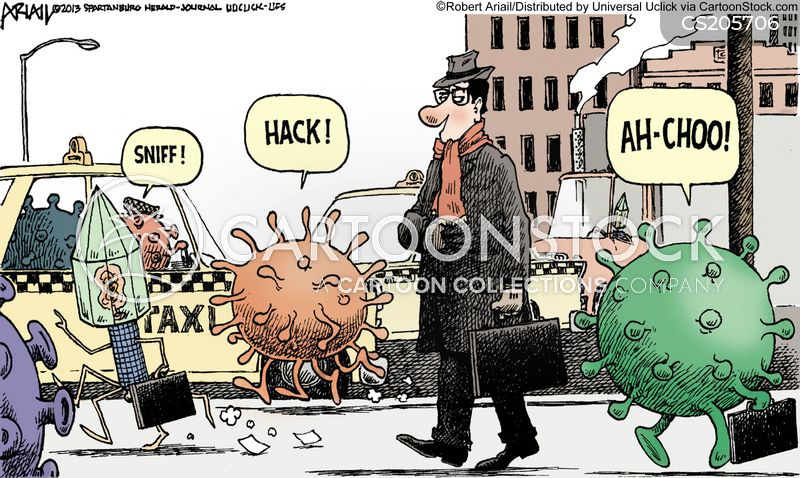 Disease Spread Cartoons and Comics - funny pictures from CartoonStock