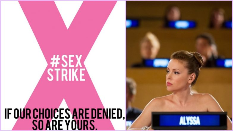 Alyssa Milano's Sex Strike to Protest Wave of Anti ...