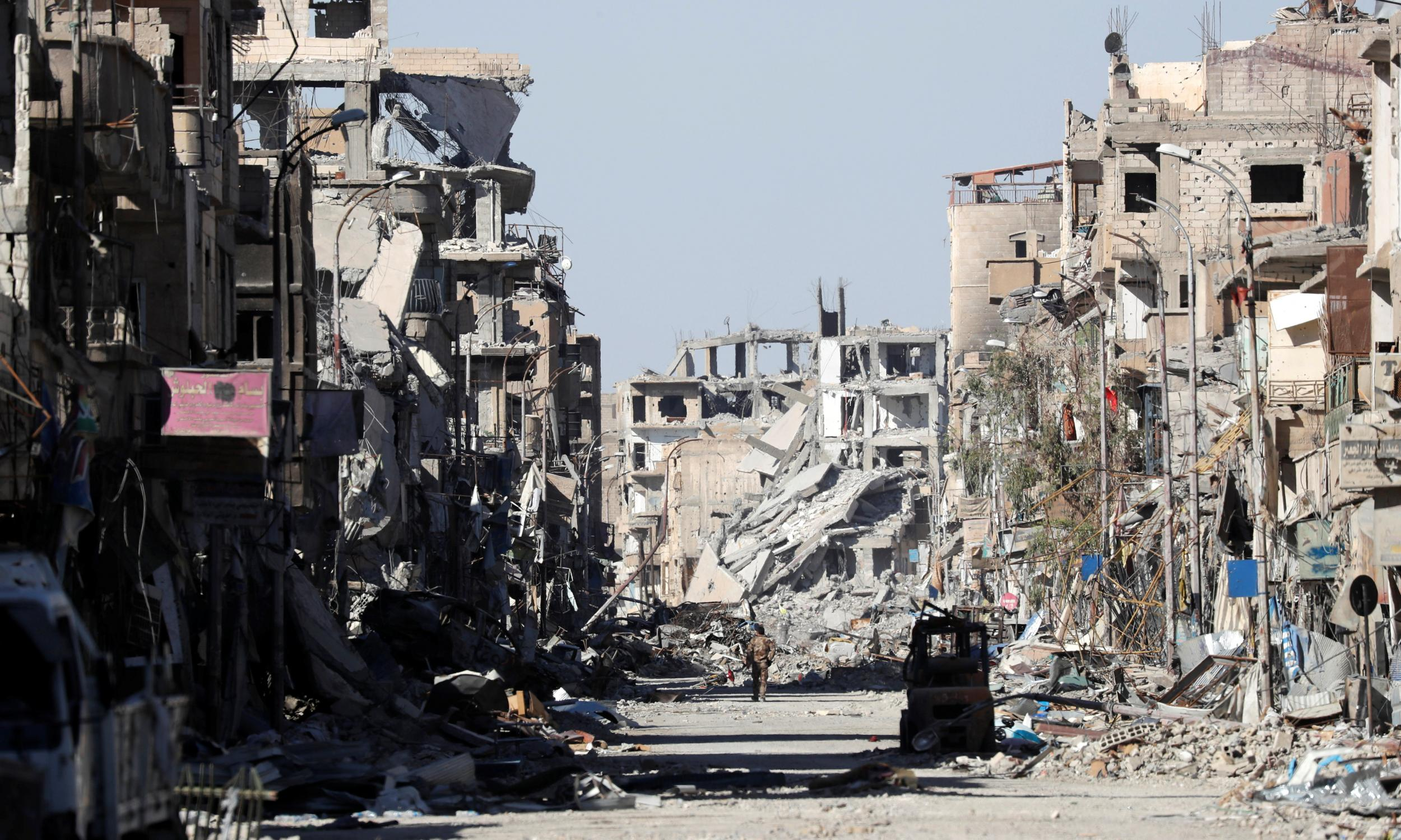 Raqqa's fall: A journey into the heart of Isis's failed ...