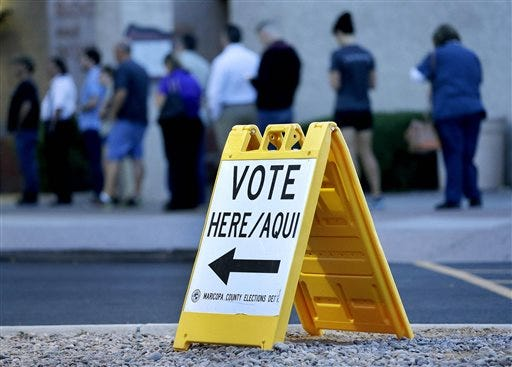 Arizona Democrats say hours-long poll lines suppressed ...