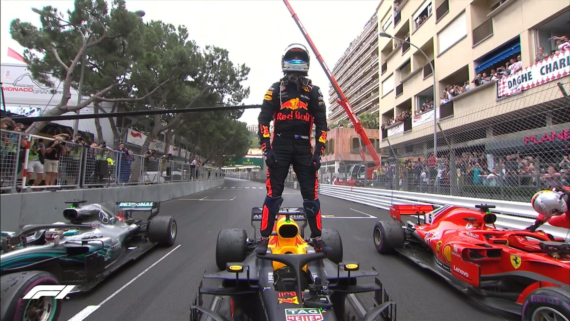 Daniel Ricciardo gana El Gran Premio de Mónaco 2018. Sainz ...