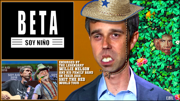 Beto O'Rourke | THE TEXAS SCRIBBLER