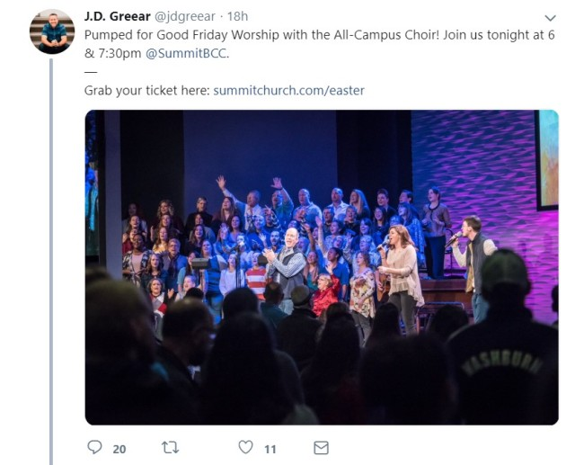 JD Greear, President of the SBC, charged money to attend ...
