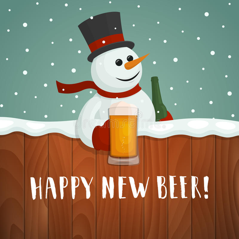 Et toi, tu fais quoi today ??? - Page 7 ?u=https%3A%2F%2Fthumbs.dreamstime.com%2Fb%2Fsnowman-beer-happy-new-beer-logo-vector-christmas-card-cartoon-holding-mug-hand-drawn-lettering-80383158