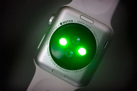 Sensores de pulso de los Apple Watch