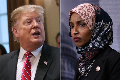 Trump says Rep. Ilhan Omar should resign over 'anti-Semitic' tweets