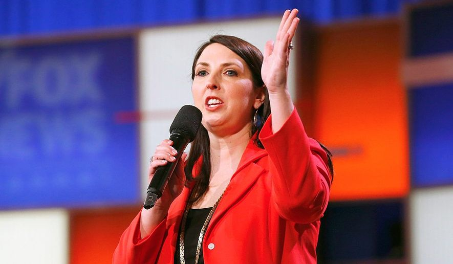 Ronna Romney McDaniel, chairwoman of the Republican ...