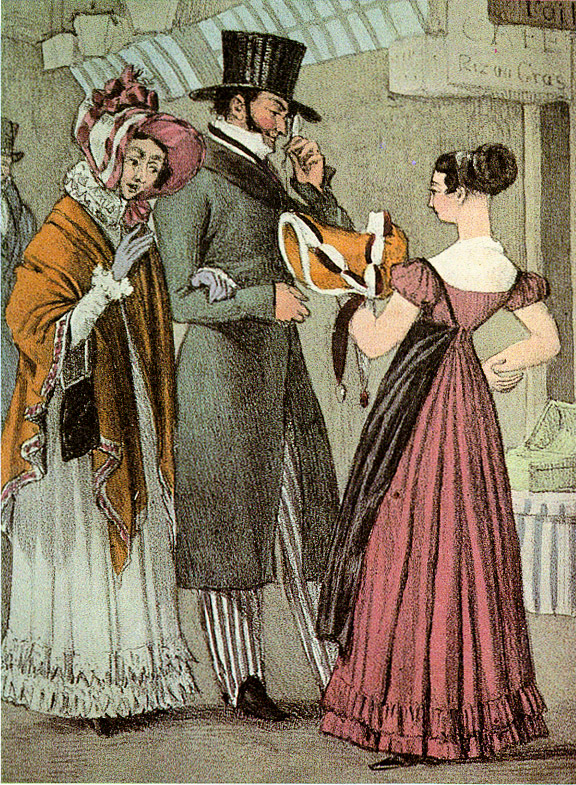 1820s in Western fashion - Wikipedia