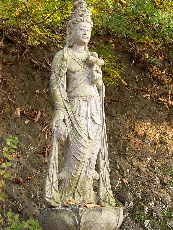 File:Bodhisattva at Iimori-yama closeup.JPG - Wikimedia ...