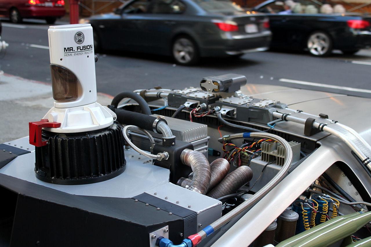 File:DeLorean DMC-12 Time Machine - Mr. Fusion.JPG - Wikimedia Commons