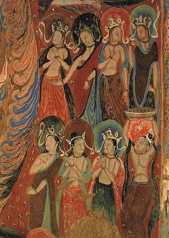 File:Mural Worshipping Bodhisattva.jpg - Wikimedia Commons