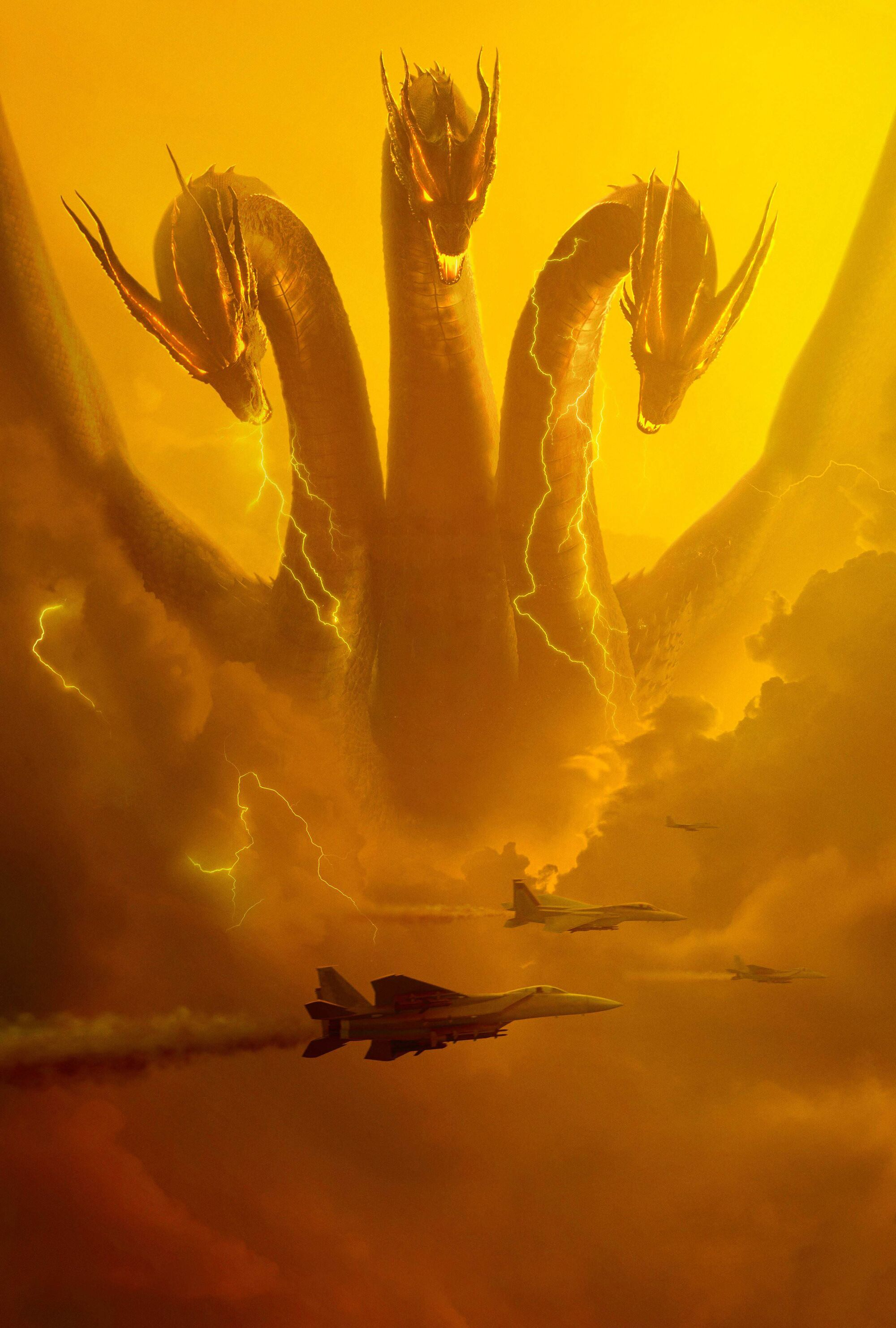 King Ghidorah (MonsterVerse) | Gojipedia | FANDOM powered ...