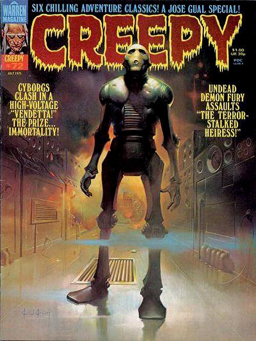 WARREN PRESS'S CREEPY MAGAZINE COVERS (70/80'S ...