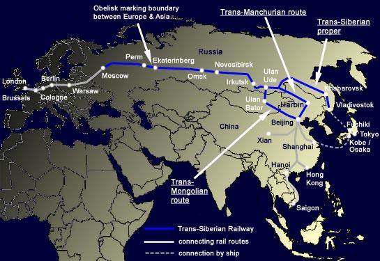 Great Railway Journeys: The Trans-Siberian Railway | World ...