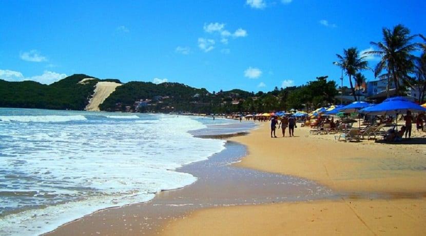 Las playas de Natal en Brasil