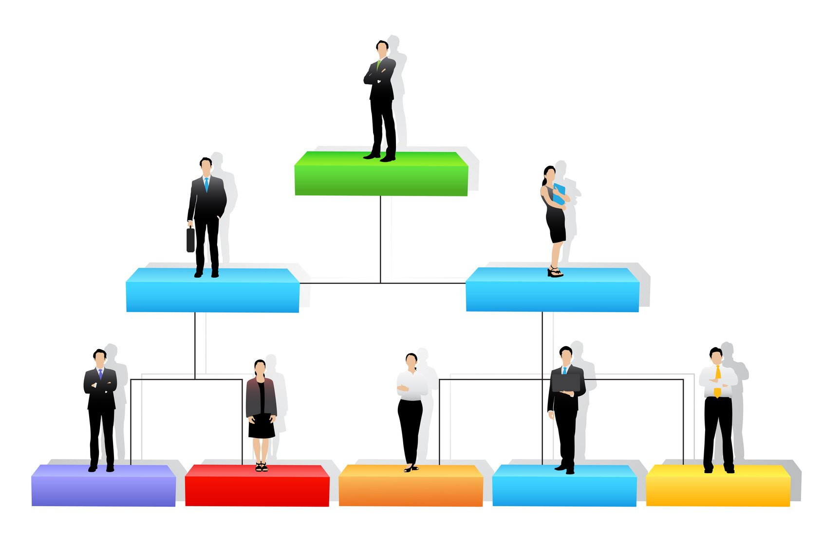 4 Common Types of Organizational Structures | AllBusiness.com