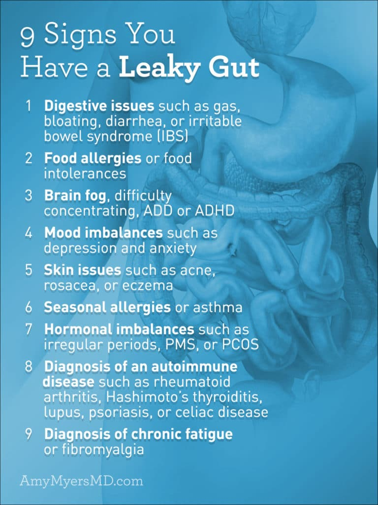 9 Signs You Have a Leaky Gut - Amy Myers MD