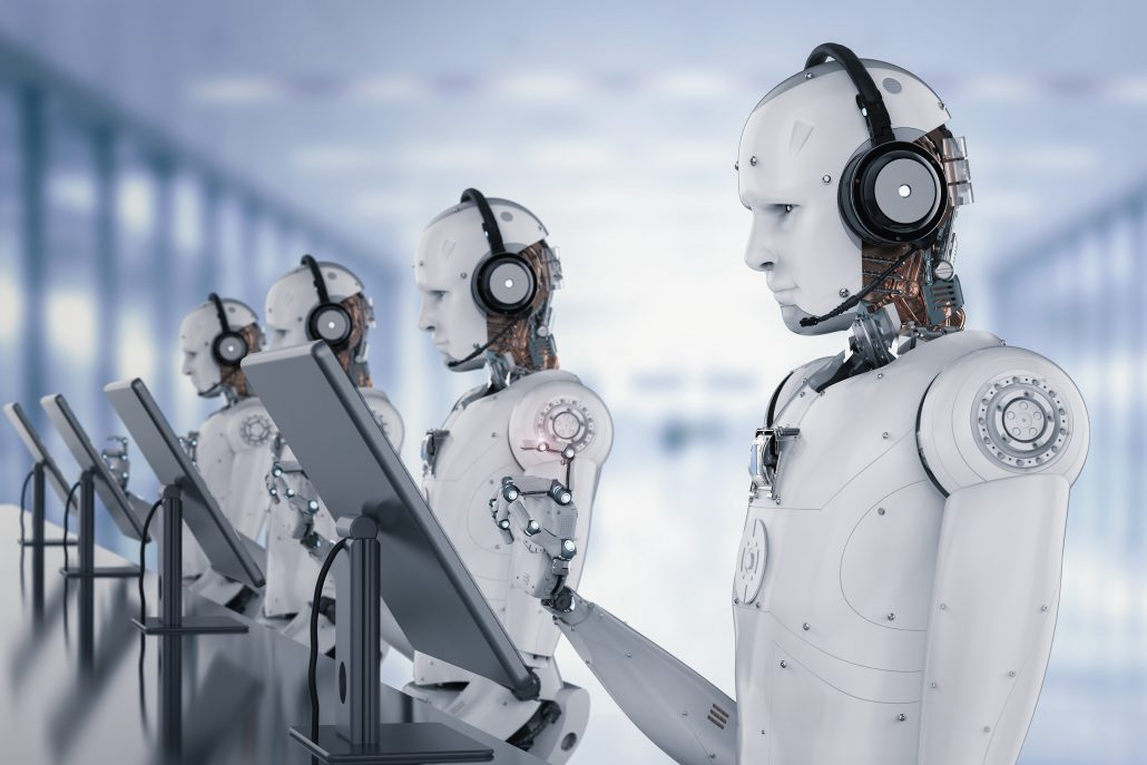 BARE Shares - Robots in Customer Service? - BARE International