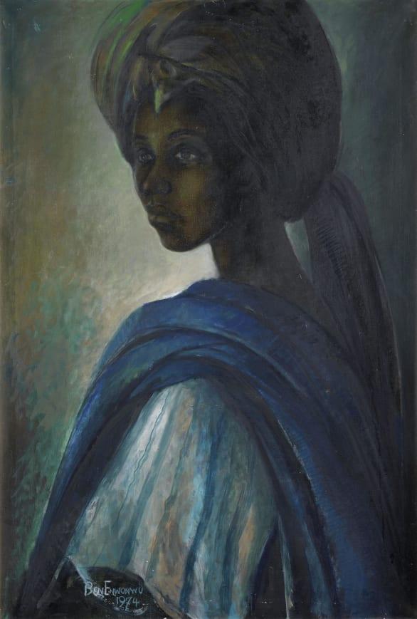 """Ben Enwonwu's """"Tutu"""" Painting found after Decades ..."""