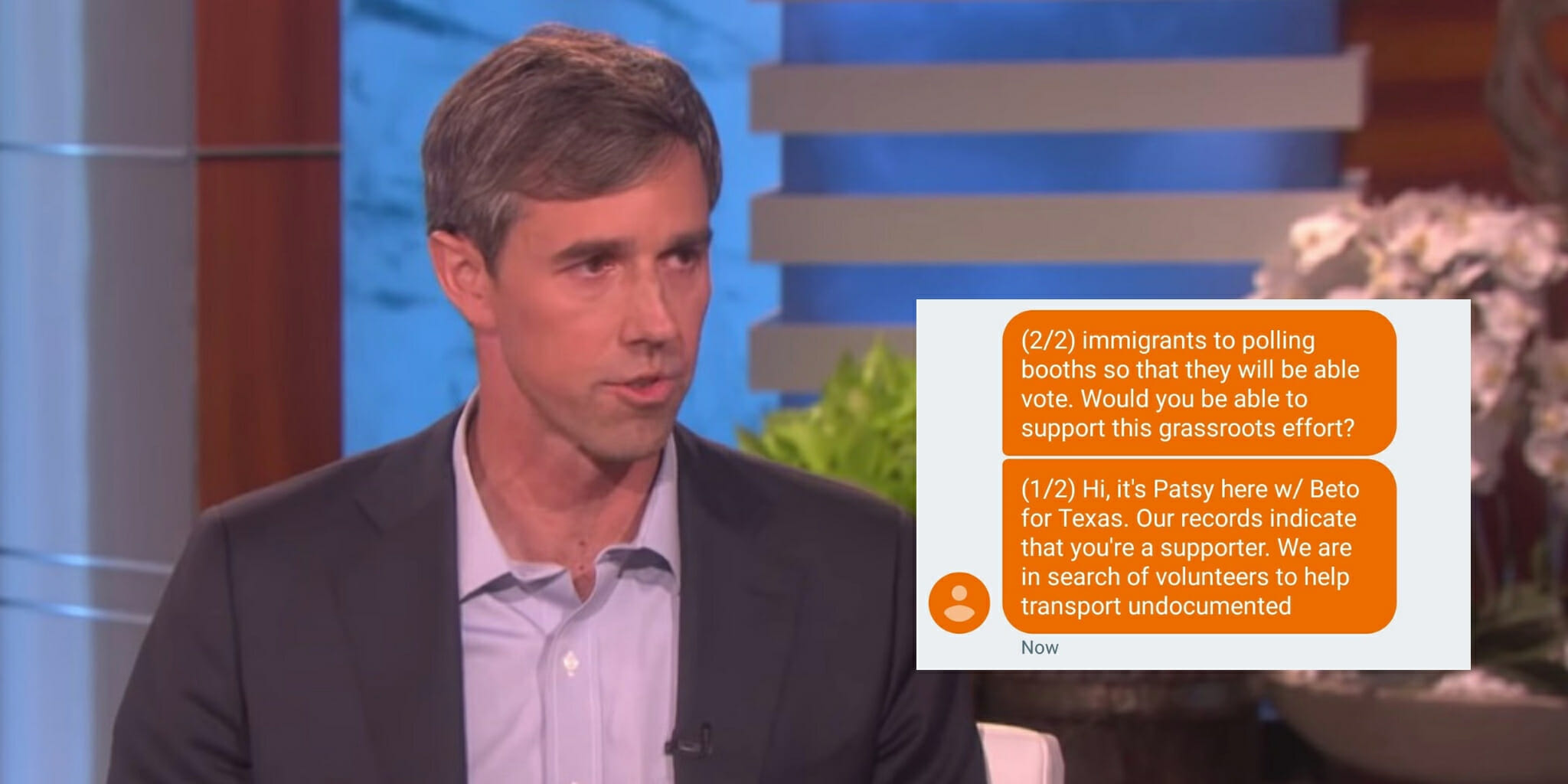 Beto O'Rourke Camp Apologizes for Texts About Undocumented ...