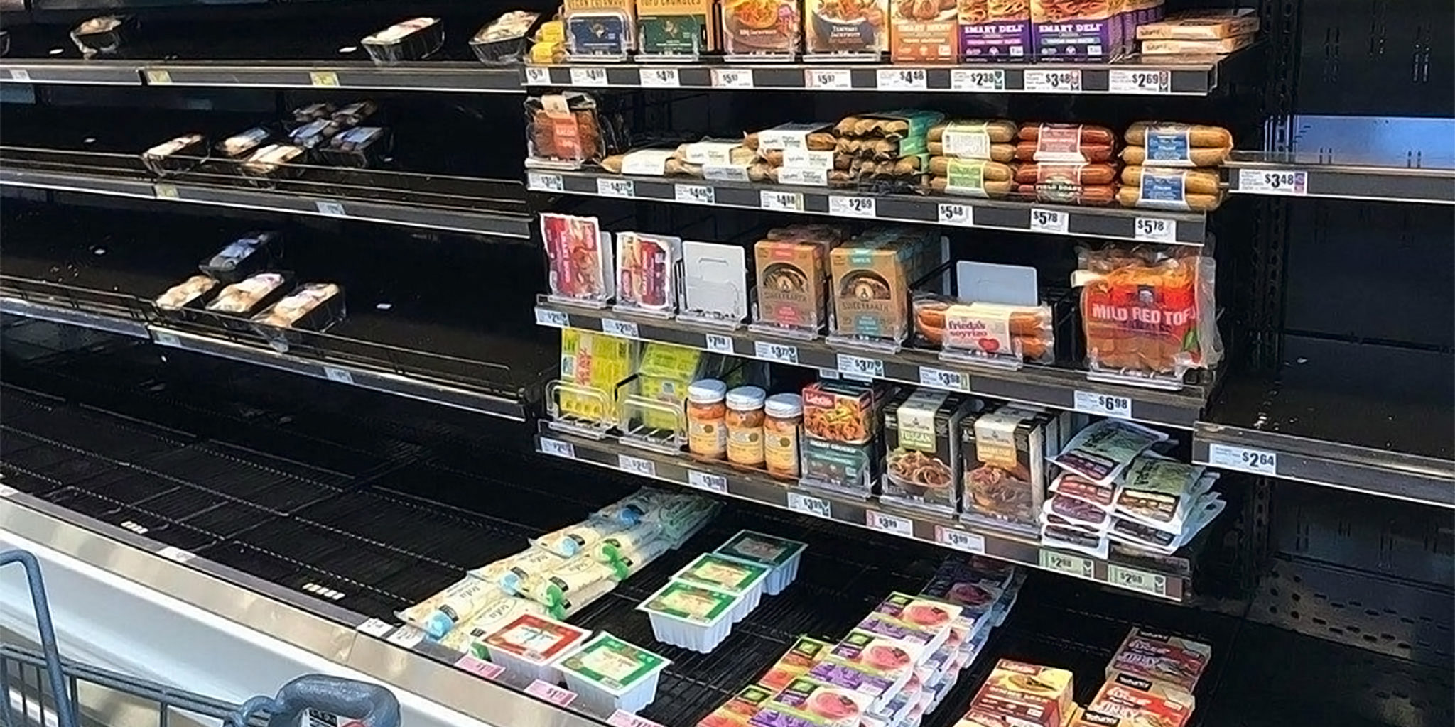 Vegan Meat Substitutes Stay on Shelves in Wake of Harvey.