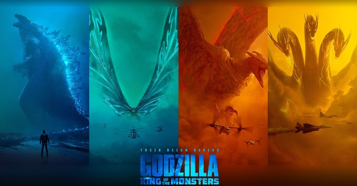 Gorgeous GODZILLA: KING OF THE MONSTERS Posters Celebrate ...