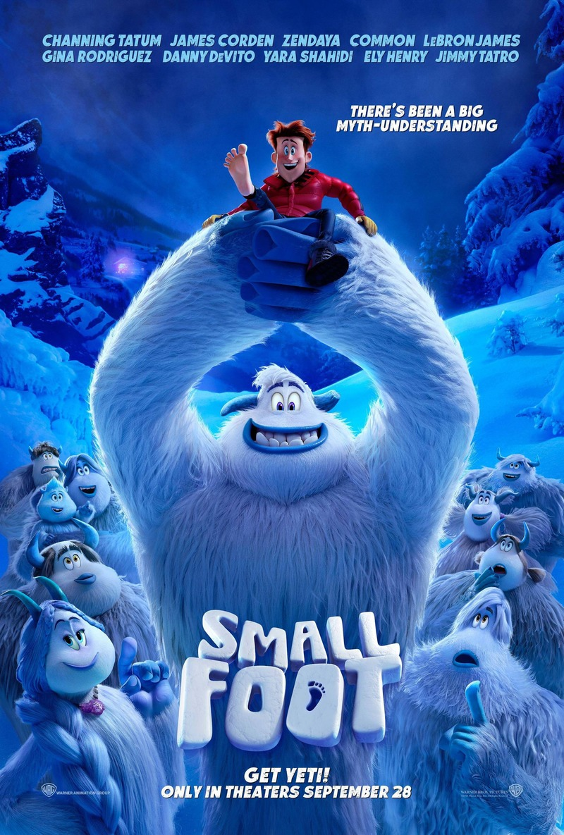 Smallfoot DVD Release Date December 11, 2018