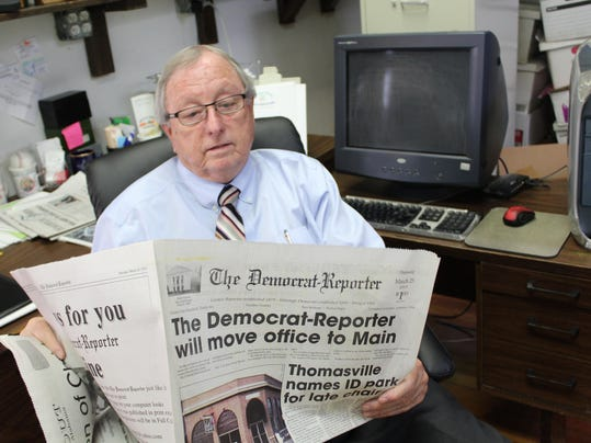 Small-town publisher hopes to hold on until century mark