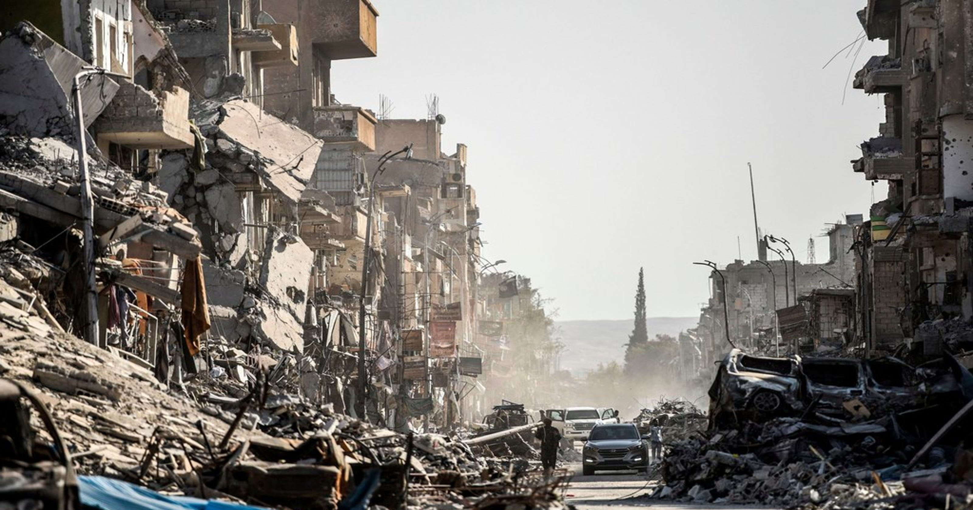 Syria's civil war: Raging for 7 years and still no end in ...