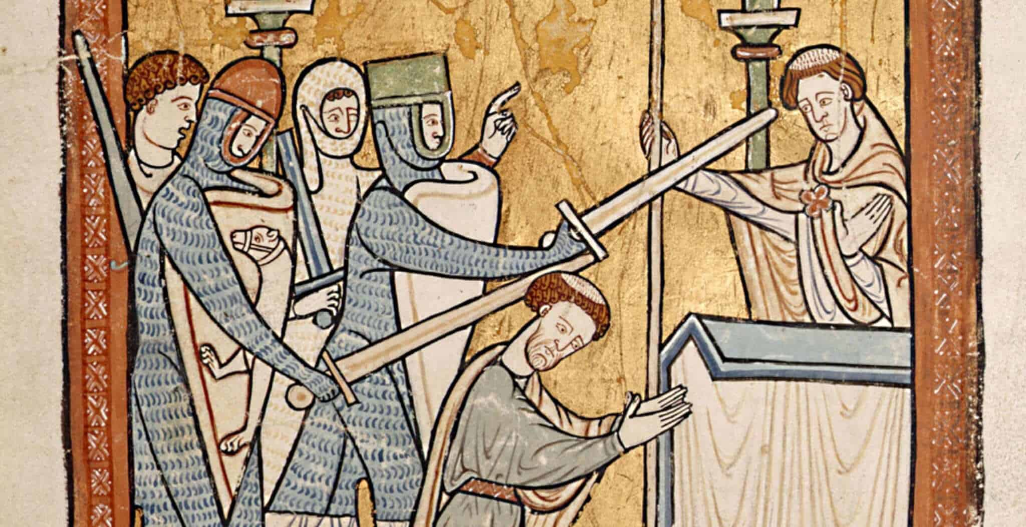 The Death of Thomas Becket in Canterbury Cathedral