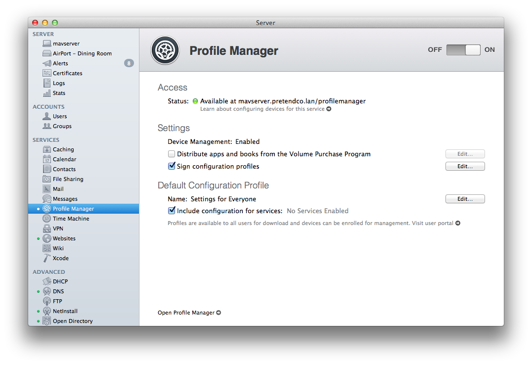 How to remove a profile on a mac from profile manager with ...