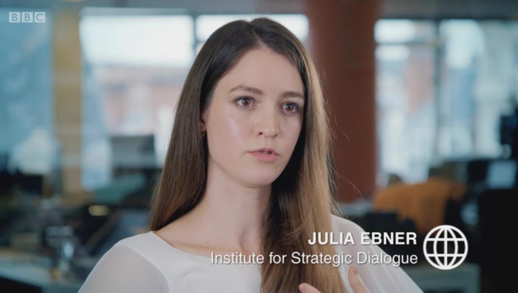 Julia Ebner on BBC Panorama - ISD