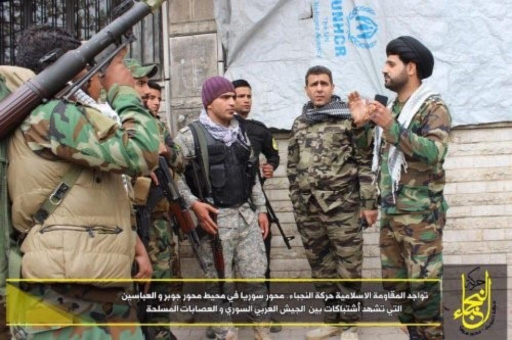 IRGC-controlled Iraqi militia deploys to eastern Damascus ...